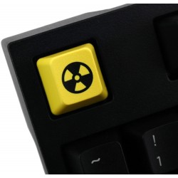 TechKeys Yellow Nuke Keycap